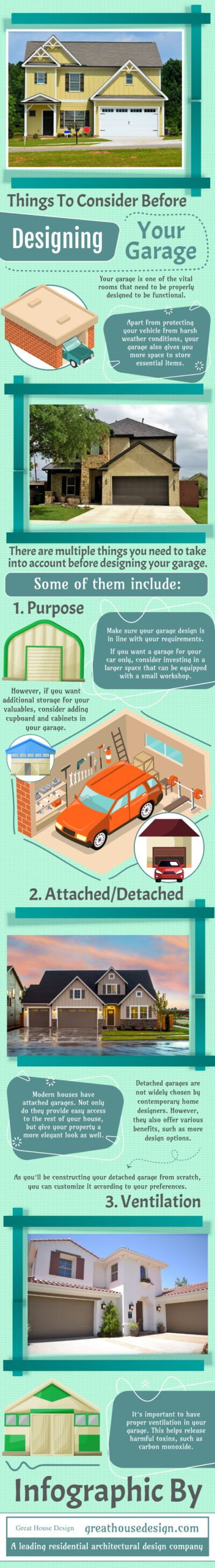 how to design your garage