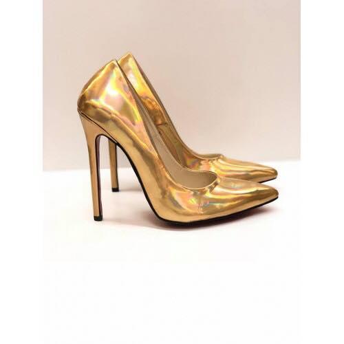 Gold Shoes - women