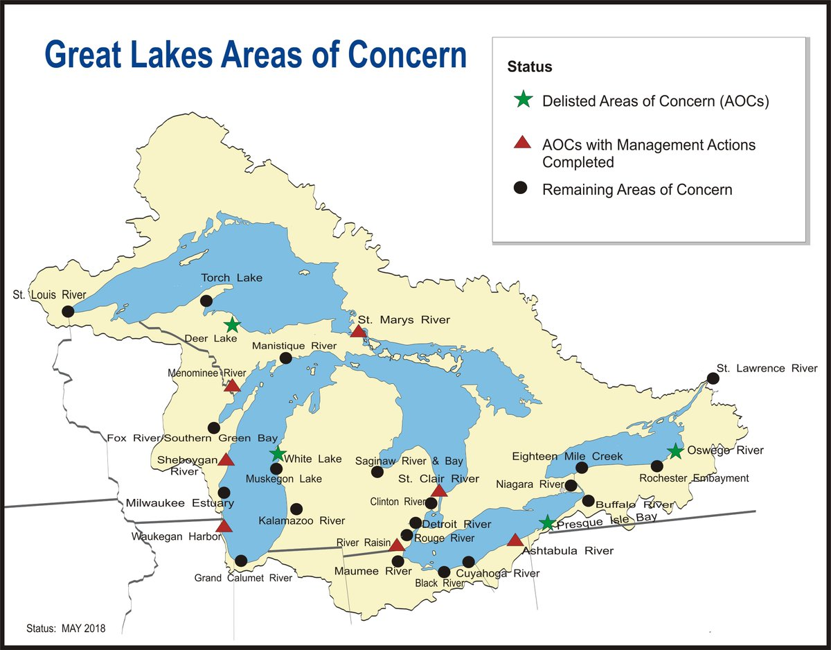 Progress And Problems Define Great Lakes Legacy Sites