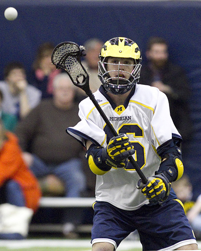 Michigan Wolverine Lacrosse Trevor Yealy