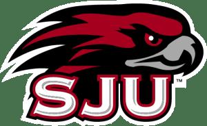 Saint Joseph's University Hawks Logo Lacrosse