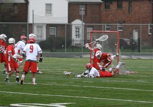 Joel Matthews Detroit titans Lacrosse Marist Red Foxes