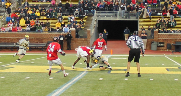 Michigan Wolverines Detroit Titans Lacrosse Great Lax State