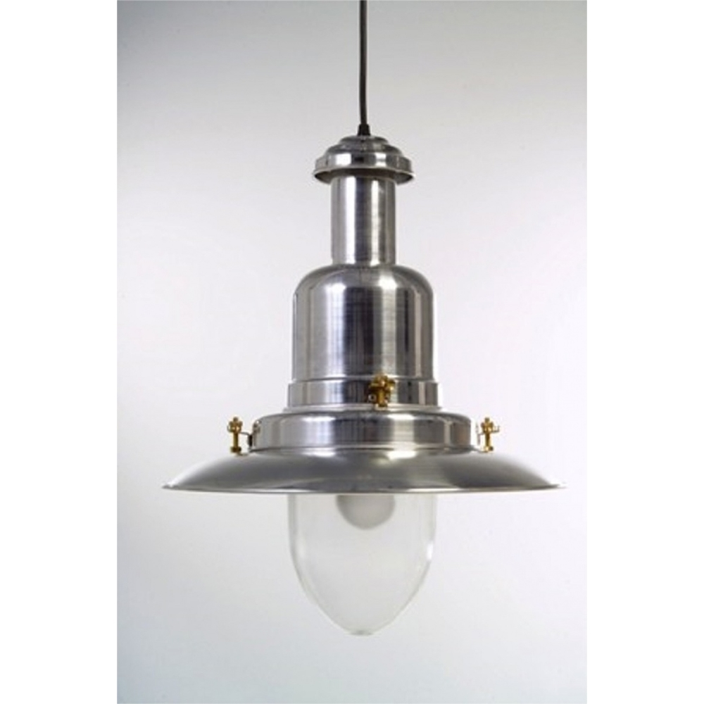 extra large silver fisherman s ceiling light