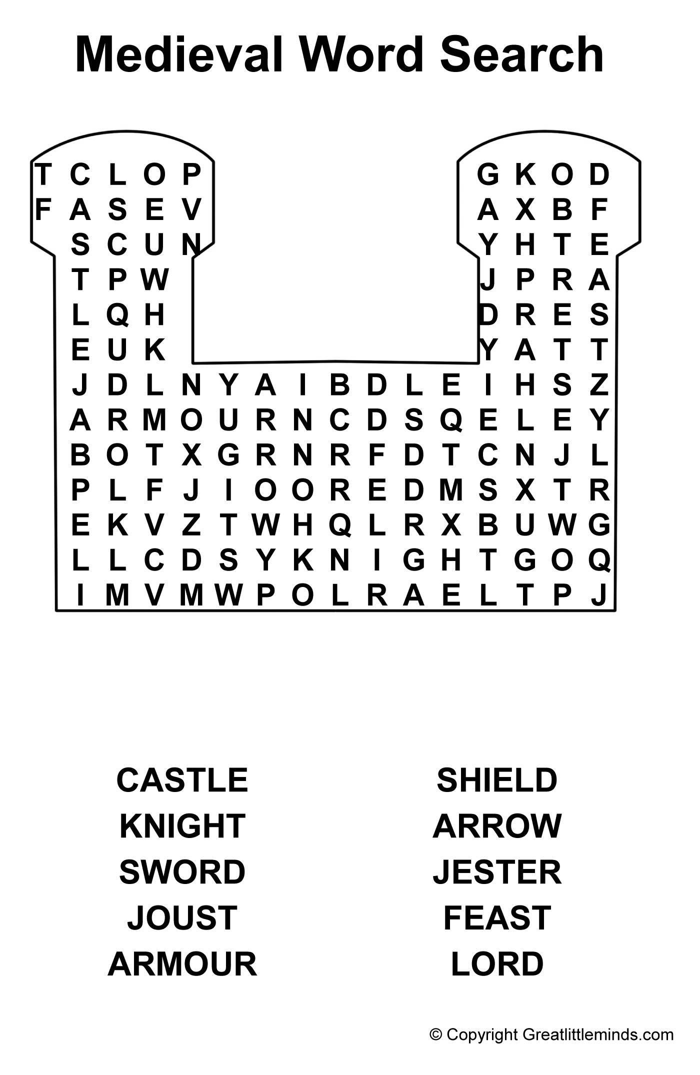 Me Val Word Search