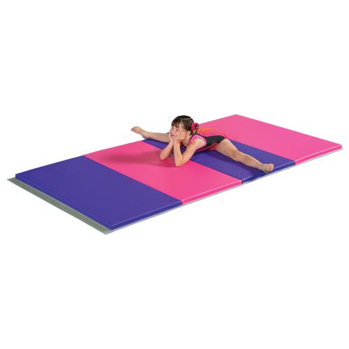 Gym Mat Custom Pink And Purple