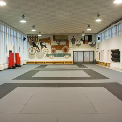 Traditional Judo Mats Black Tatami Jiu Jitsu Judo BJJ Mats