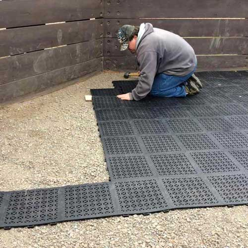 staylock tile perforated black