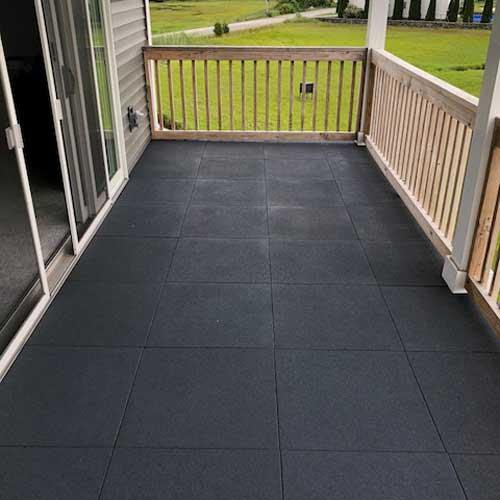 how long do deck tiles last