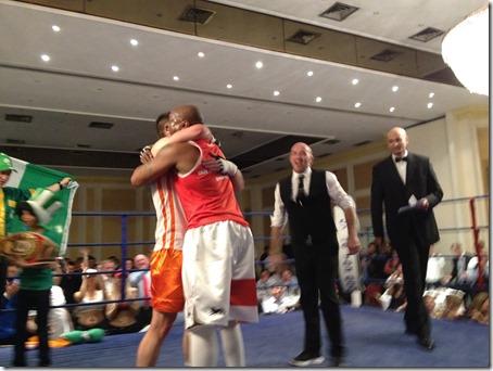 Wright Hugs Healy