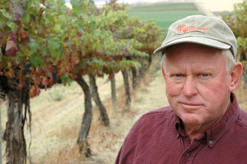 Red Willow Vineyard is owned by Mike Sauer.