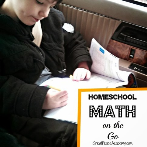 Homeschool Math on the go
