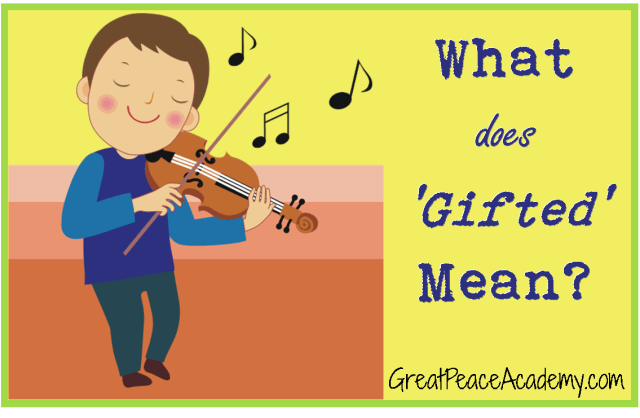 "Defining ""gifted"""