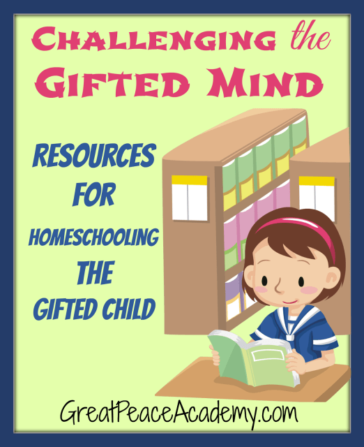 Resources for Homeschooling the Gifted Child