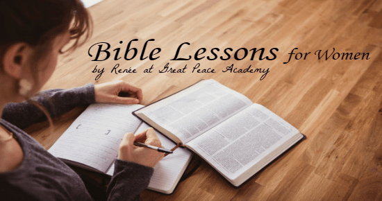 Bible Lessons for Women at Great Peace Academy