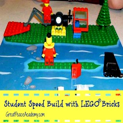 Homeschool Co-op with LEGO Bricks