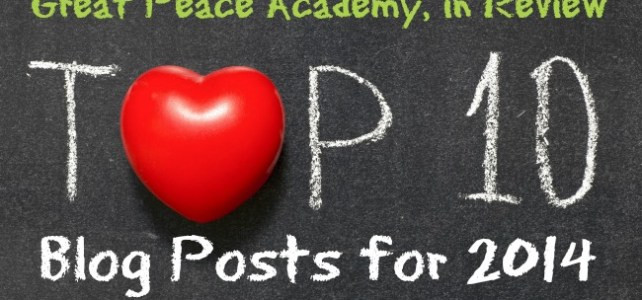 Great Peace in Review, 2014 Top 10 Posts