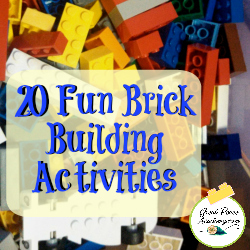 20 Fun Brick Building Activities | GreatPeaceAcademy.com #LEGO