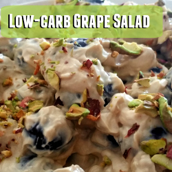 Low-Carb Grape Salad Recipe | GreatPeaceAcademy.com