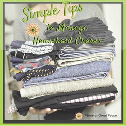 Simple Tips to Manage Household Chores