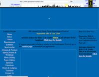 Great Plains Renaissance Festival Website in 2009
