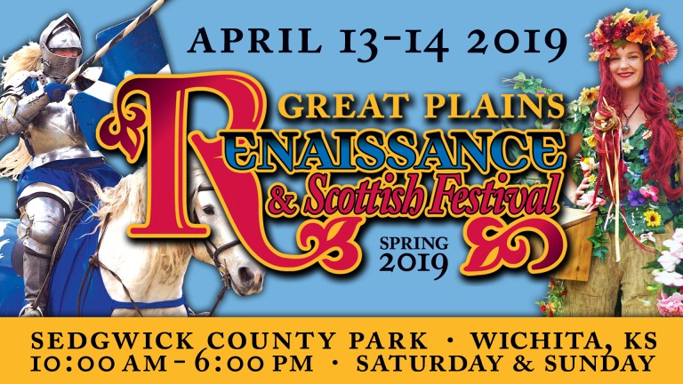 The Spring Great Plains Renaissance & Scottish Festival, Spring 2019, Sedgwick County Park, Wichita, Kansas