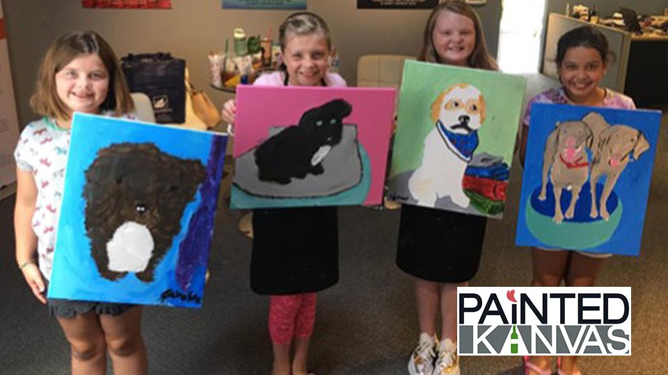 Paint Your Pet - Painted Kanvas