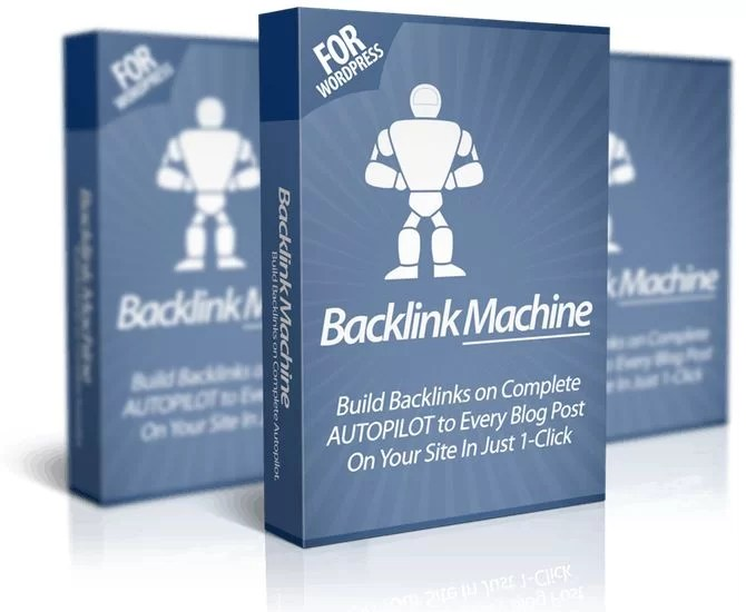 Backlink Machine Software Package