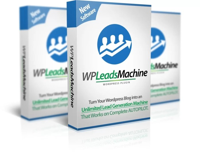 WP Leads Machine Software Package