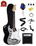 Stedman Pro Beginner Series 39-Inch Electric Guitar Starter Package