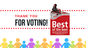 thank you for voting