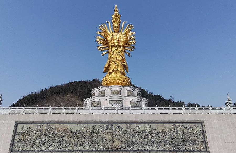 Guishan Guanyin Top 10 Tallest Statue in the World