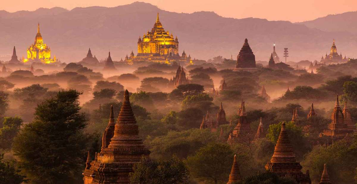 Bagan temple Top 10 Most Popular Historical Places In The World by greattopten