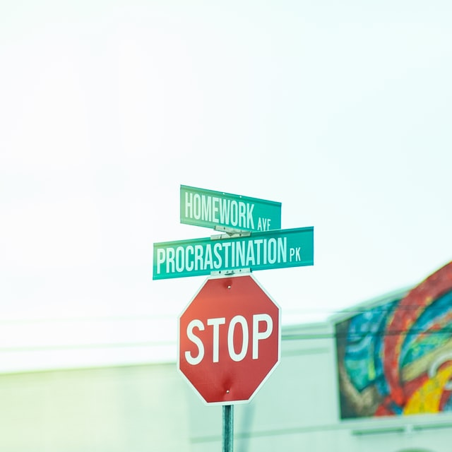 """A photo of a street sign that says """"Procrastination Pk"""", probably from Nashville."""
