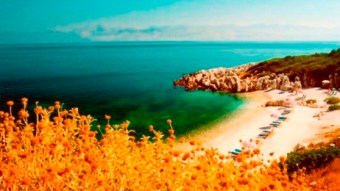 Corfu lovely beach