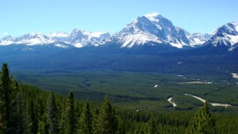 Magnificient landscape of Canada