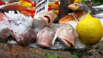 Food at Borough market