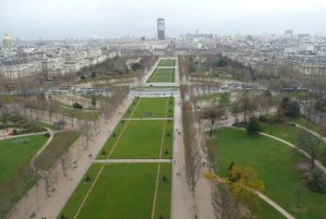 Gardens of the Eiffel Tower
