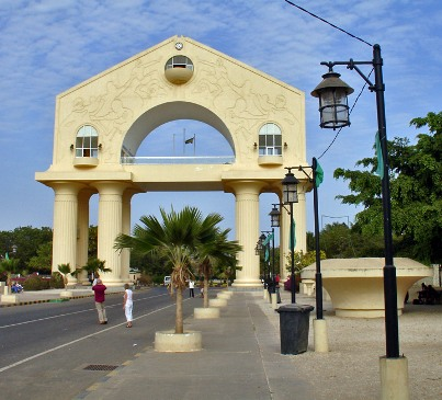 Arch 22 in Banjul Square