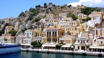 Coastal houses of Rhodes