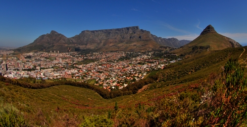 The iconic Table Mountain