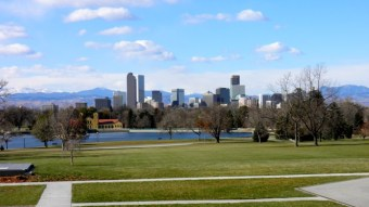 Green space just outside Denver