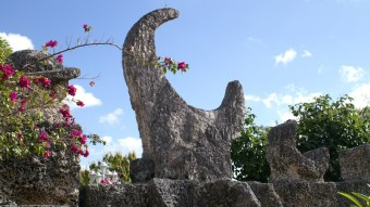 Stone scultpures of the Coral Castle