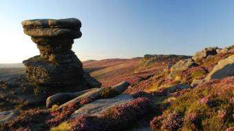 The Peak District in the Derby countryside