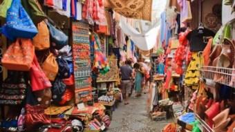 Colourful market in Granada