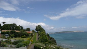 Coastal view from Shanklin
