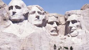 Mount Rushmore Memorial in South Dakota