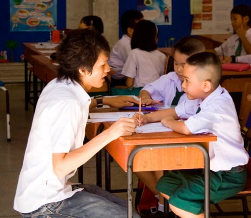 Volunteering as a teacher abroad