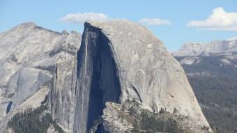 The Half Dome in Yosemite National Park