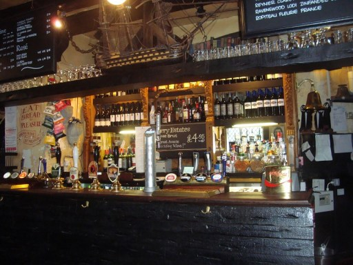 The Mayflower pub - the oldest on the River Thames